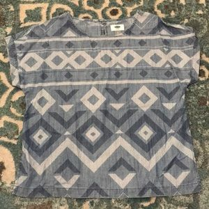 Old Navy patterned tunic